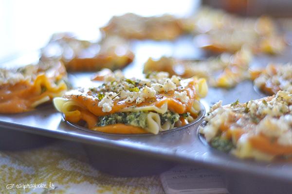 Pumpkin Spinach Lasgna DSC_6670